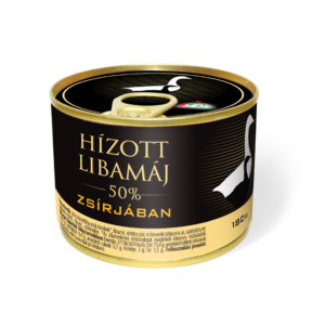 Hízott Libamáj zsírjában konzerv 180g
