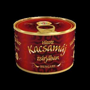 Hízott Kacsamáj zsírjában konzerv 180g